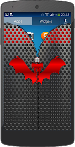 Metal Bat Zip Screen Lock screenshot 16