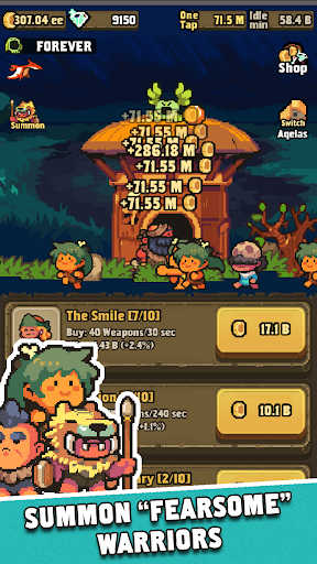 Tap Tap Smith: Prehistoric Heroes 2.1.2 de.gamequotes.net 3