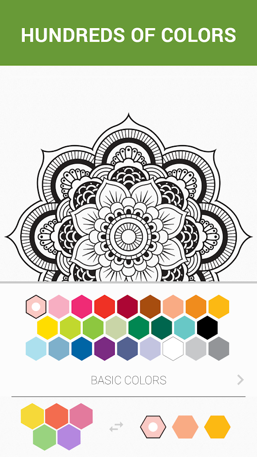 colorme coloring book free screenshot - Coloring Books For Adults Free