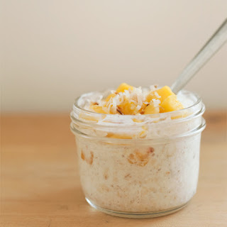 Summer Mango Coconut Porridge.