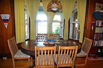 Photo: Dining room.
