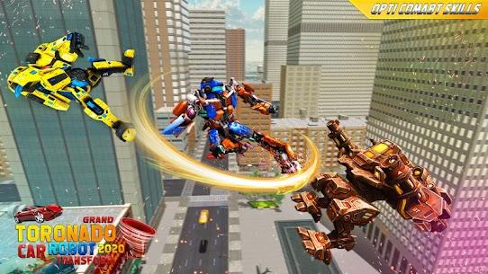 Robot tornado transform Shooting games 2020 5
