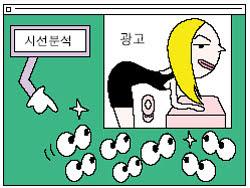 네티즌 시선을 추적하라