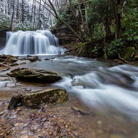 Falling for You by Kevin Frick - Landscapes Waterscapes ( falls, waterfall, west virginia,  )