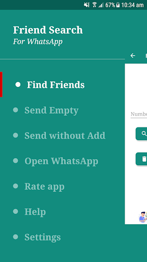 Number Share And Friend Search for WhatsApp 6.1.0 screenshots 3