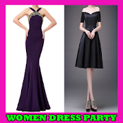 Women Dress Party Designs icon