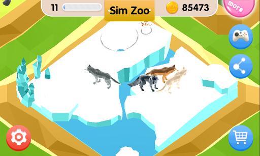 Sim Zoo - Wonder Animal  screenshots 4