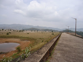 Photo: Dry Lakya Dam, Kudremukh