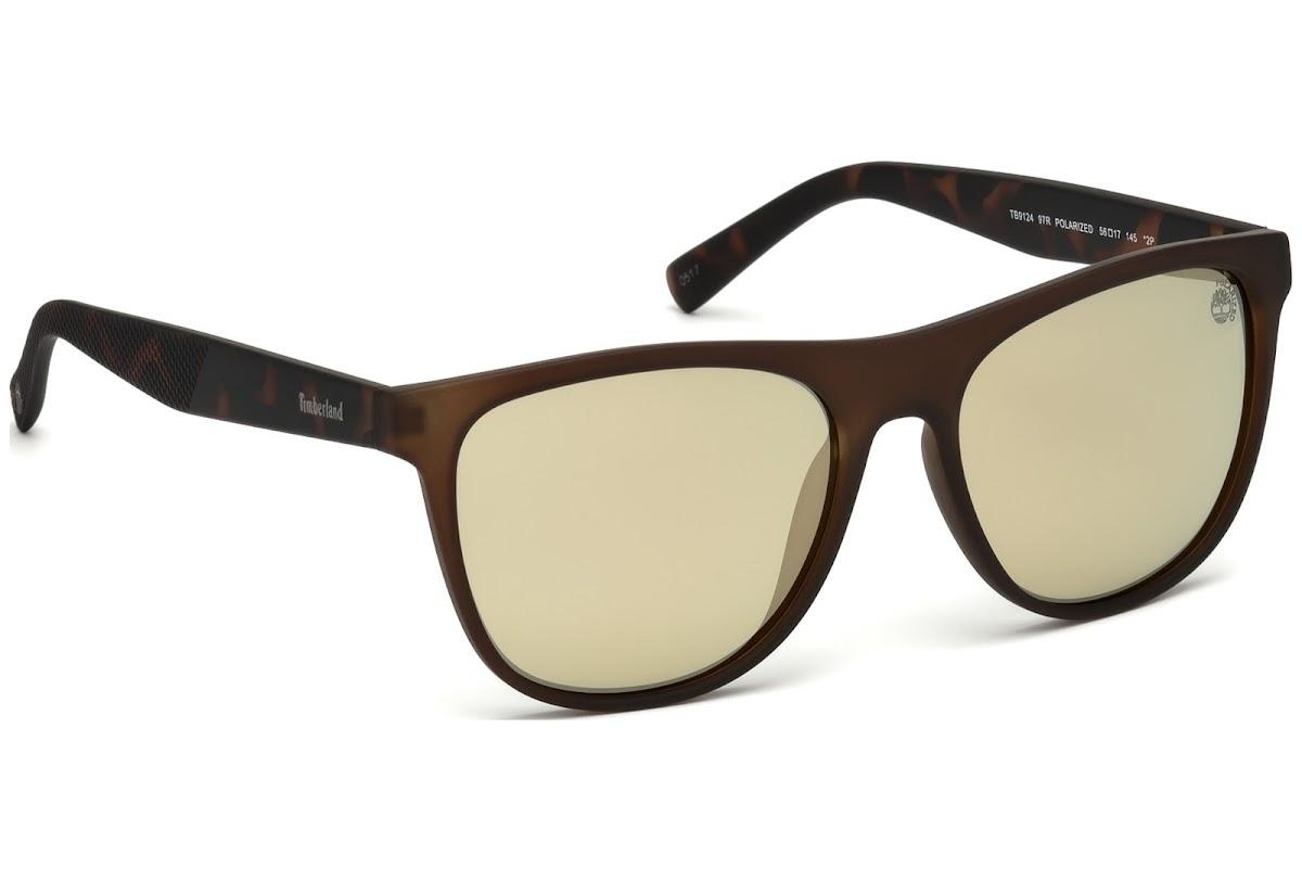 6fd32ac286 Polarized Sunglasses Timberland TB9124 C56 97R (matte dark green   green  polarized)