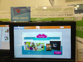 Photo: Photos can be printed in store, or via the app and picked-up within an hour.
