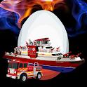 Rescue Fire Truck Surprise Egg icon