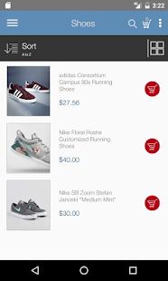 NopCommerce 3.9 App - náhled