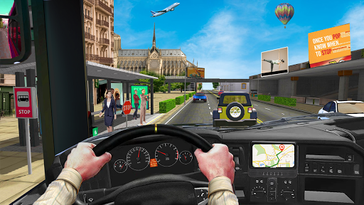 Coach Bus Simulator Game: Bus Driving Games 2020 apkmr screenshots 3