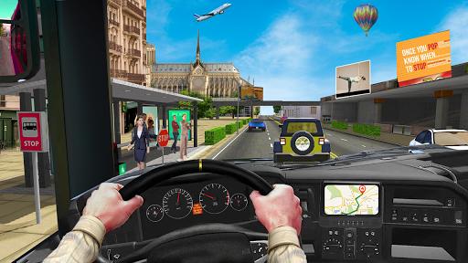 Coach Bus Simulator Game: Bus Driving Games 2020 apktram screenshots 3