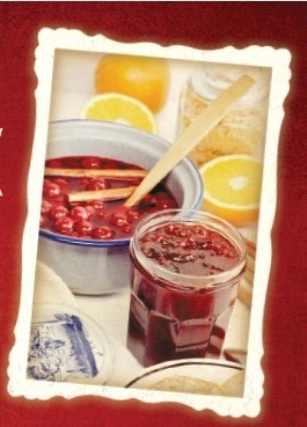 Sweet Red Cabernet Cranberry Sauce Recipe