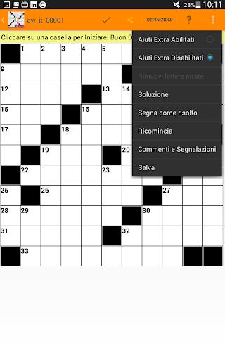 Cruciverba in Italiano gratis 3.7.6 screenshots 18