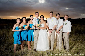 Photo: Sunset wedding photos