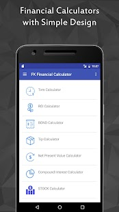 Ray Financial Calculator Pro Screenshot
