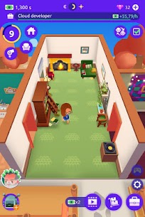Idle Life Sim Mod Apk 1.3.1 (Unlimited Money & Gems) 6