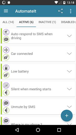 AutomateIt screenshot 2