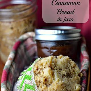 Apple Cinnamon Bread in Jars.