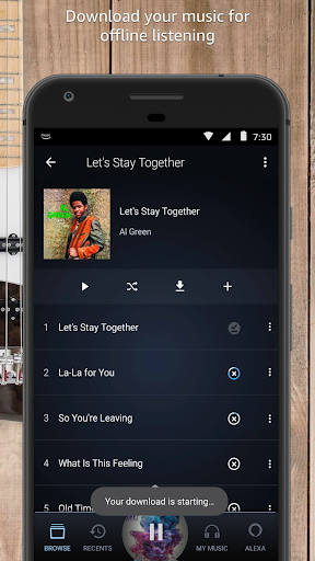 Amazon Music 15.17.2 screenshots 1