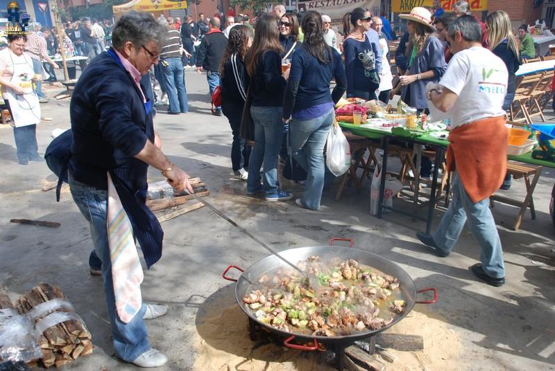 Día mundial de la Paella. Falles de Gandia