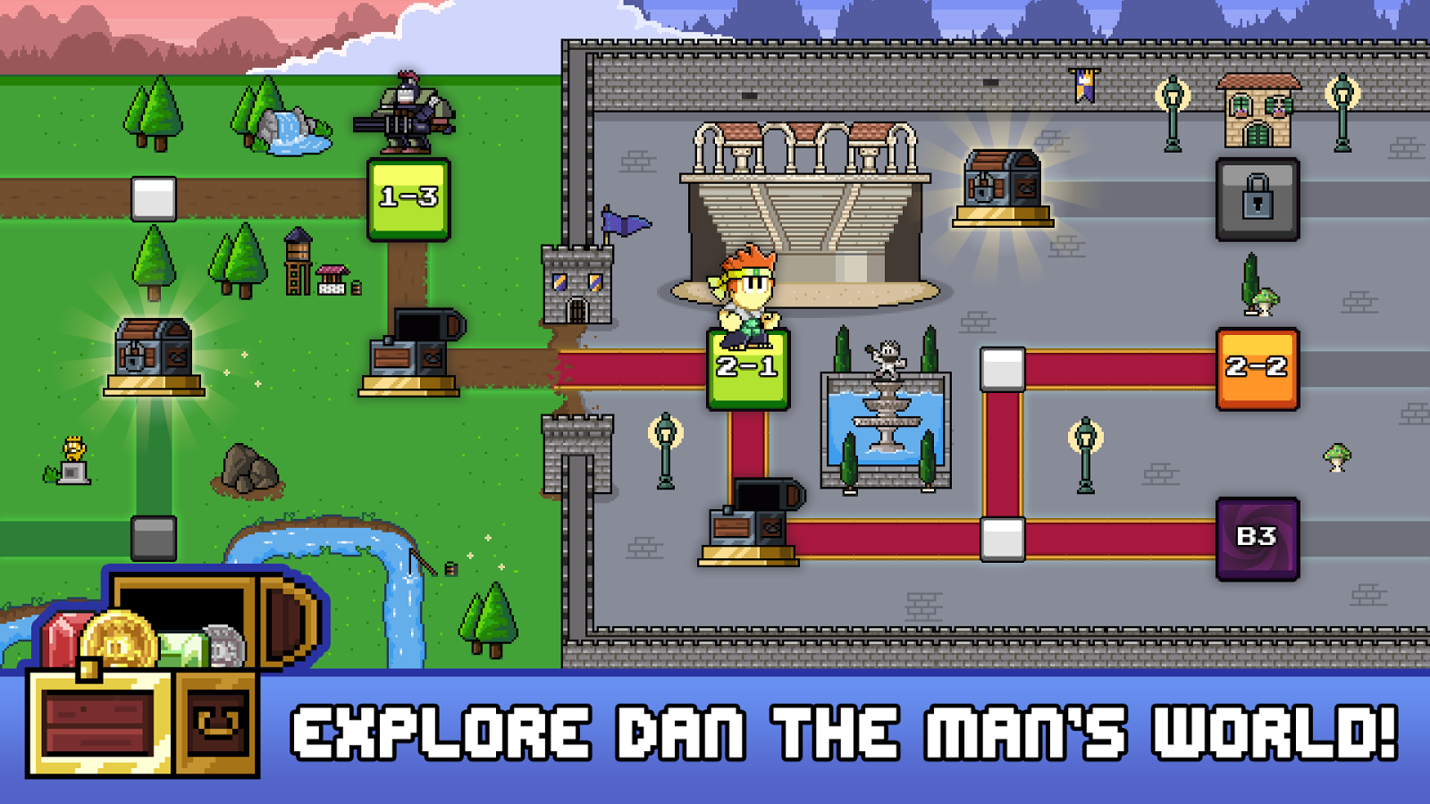 Dan The Man- screenshot