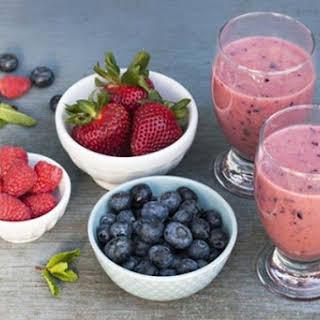 Low Carb Diabetic Breakfast Smoothie.