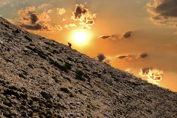 solo sulla montagna di paolo_ross