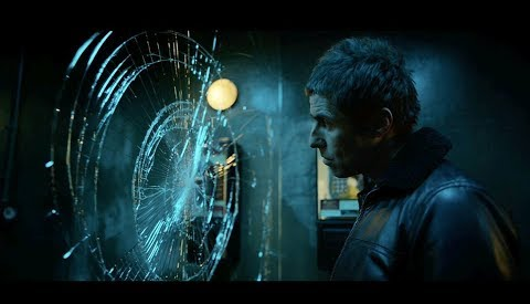 Liam Gallagher in the official video for 'Wall of Glass'.
