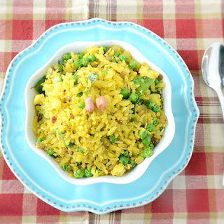 Matar Poha or Chura Matar