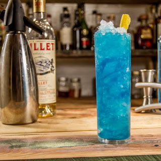 Blue Curacao Cocktail.