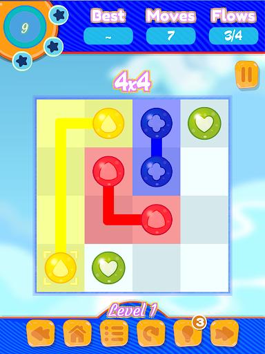 玩免費休閒APP|下載Flow Colors Puzzle Free app不用錢|硬是要APP