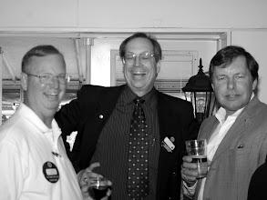 Photo: Bill McKinnon, Paul Baker, Mike Swayne