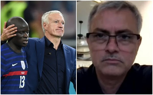 Jose Mourinho highlights Didier Deschamps' 'mistake' after France's Euro 2020 exit