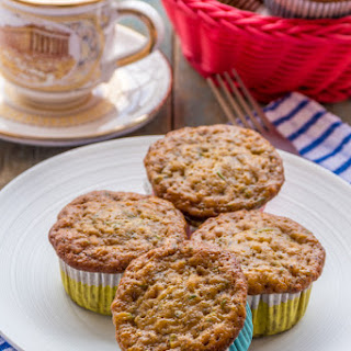 Low-Fat Banana & Zucchini Muffins