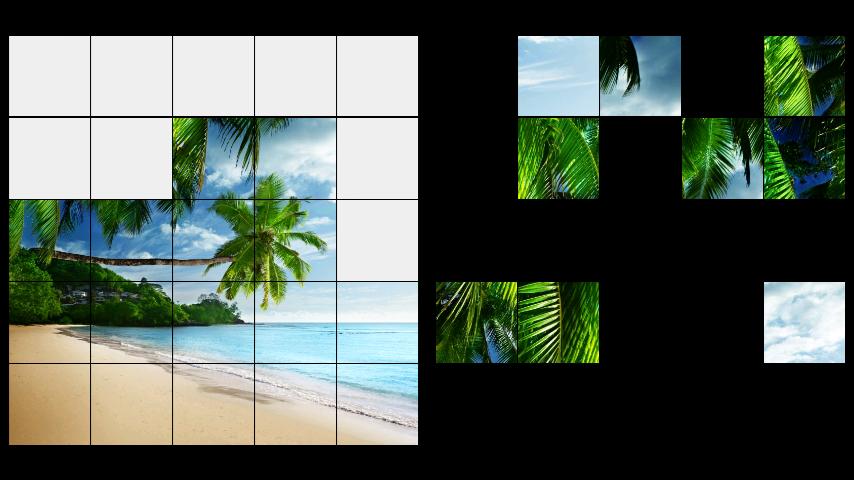 android Beach LWP + Jigsaw Puzzle Screenshot 2