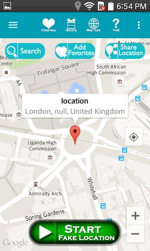 Fake Location Prank