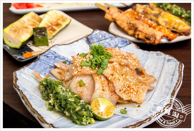 大麥町日式碳烤熱炒活海鮮蔥燒豚五花