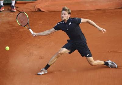 David Goffin verliest van Marco Cecchinato in achtste finales Roland Garros