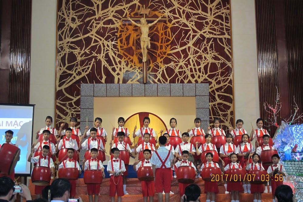 Đêm đại hội nhạc đoàn và ca đoàn thiếu nhi giáo phận Qui Nhơn