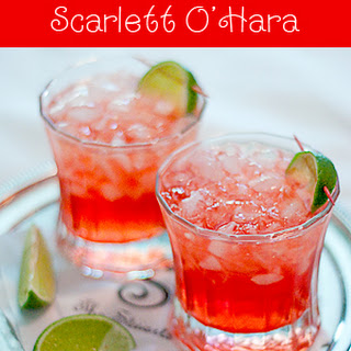 Scarlett O'Hara Cocktail.