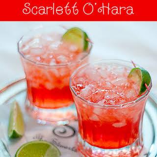 Scarlett O'Hara Cocktail.