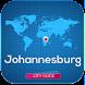 ヨハネスブルグ地図とガイド