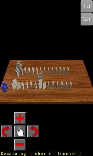 3D Domino Toppling screenshots 4