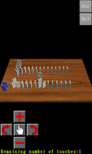 3D Domino Toppling 4