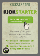 Photo: One of eight event cards of the Venture Capitalist Extension. Only Kickstarter backers get this card.