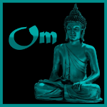 Buddhist Om Mantra Icon