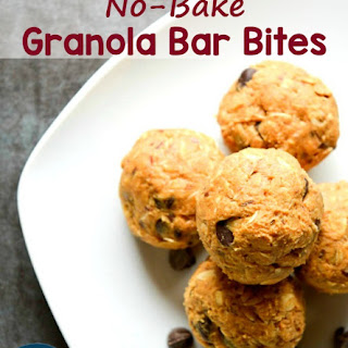 No-Bake Granola Bar Bites